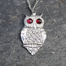 Owl pendant necklace  P27
